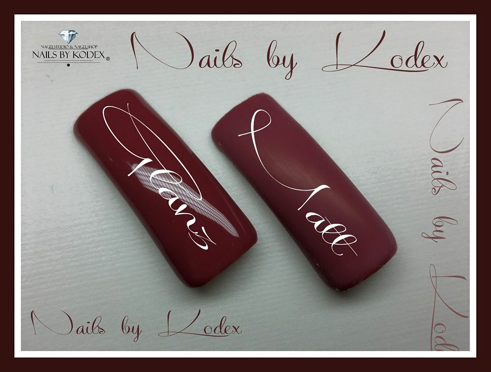 Matt Design Nailart