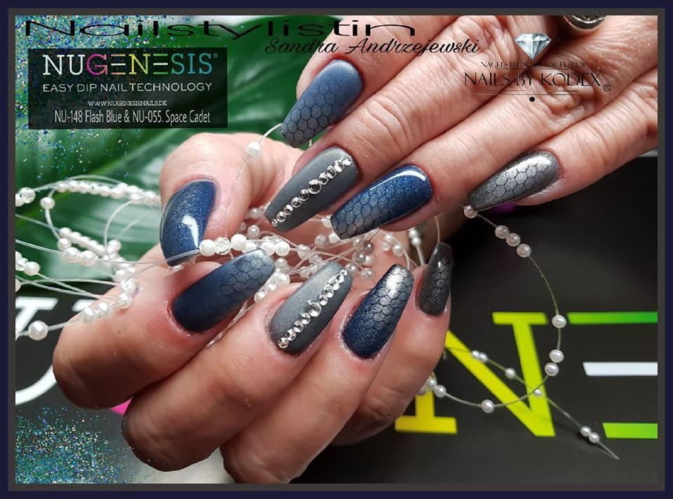 Titanium Dip Nails